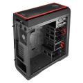 case aerocool ds 200 midi tower red extra photo 5