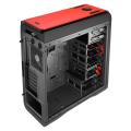 case aerocool ds 200 midi tower red extra photo 6
