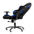 akracing gaming chair black blue extra photo 3