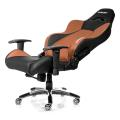 akracing premium gaming chair black brown extra photo 2