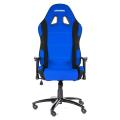 akracing prime gaming chair blue black extra photo 1