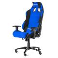 akracing prime gaming chair blue black extra photo 3
