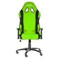 akracing prime gaming chair green black extra photo 1