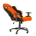 akracing prime gaming chair orange black extra photo 1