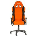akracing prime gaming chair orange black extra photo 2
