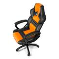arozzi monza gaming chair orange extra photo 3