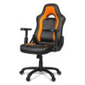 arozzi mugello gaming chair orange extra photo 3