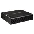 case akasa a itx19 a1b08e euler m fanless mini itx case incl 80w psu black extra photo 2
