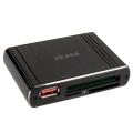 akasa ak hce 01bk pontos x1 usb 30 card reader black extra photo 1