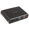 akasa ak hce 01bk pontos x1 usb 30 card reader black extra photo 2