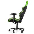 akracing player gaming chair black green extra photo 2