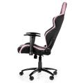 akracing player gaming chair black pink extra photo 2