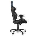 akracing rush gaming chair black blue extra photo 1