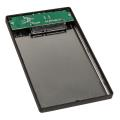 arctic 25 hdd enclosure usb 30 silver extra photo 1