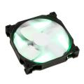 phanteks ph f140sp 140mm fan green led black white extra photo 2