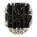 phanteks ph tc14s slim cpu cooler 140mm black extra photo 1