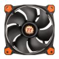 thermaltake riing 12 120mm led fan orange extra photo 1