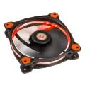 thermaltake riing 12 120mm led fan orange extra photo 2