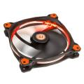 thermaltake riing 14 140mm led fan orange extra photo 2