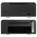 case streacom st fc8b evo htpc aluminium black extra photo 1