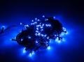 christmas tree lights led blue 100 pcs 94m extra photo 1