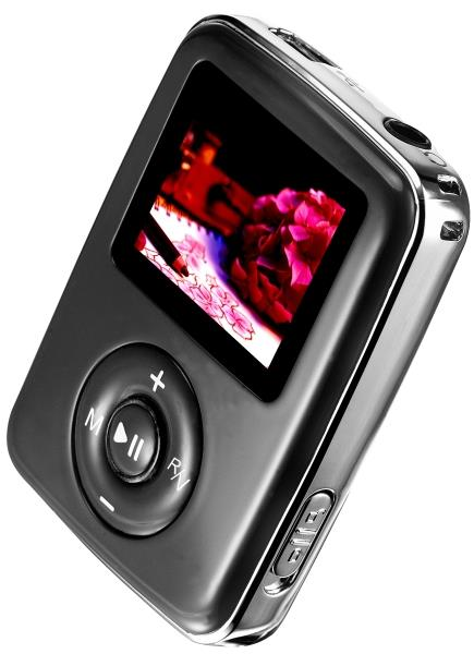 4GB FM RADIO MP3 MP4 PLAYER BLACK