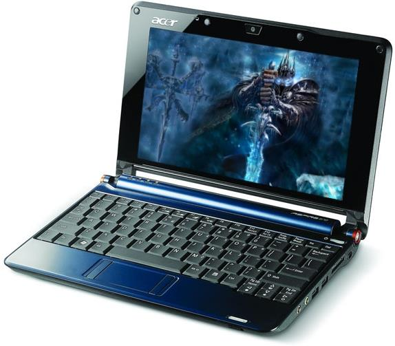 ACER ASPIRE ONE A110L SAPPHIRE BLUE