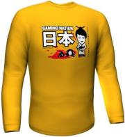 GAMERSWEAR GAMING NATION LONGSLEEVE YELLOW (XXL) gadgets   παιχνίδια   t shirts