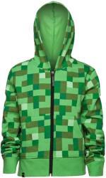 jinx minecraft creeper no face zip up youth hoodie 11 12 years kids photo