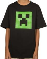 jinx minecraft creeper glow youth tee 11 12 years kids photo