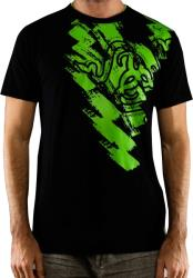razer scratch t shirt men xxl photo