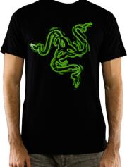 RAZER RATTLE T-SHIRT - MEN (L) gadgets   παιχνίδια   t shirts