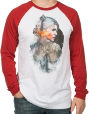 jinx witcher ciri men s raglan m photo