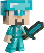 jinx minecraft diamond steve 15cm vinyl figure photo