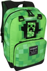 jinx minecraft creepy creeper 432cm backpack green photo