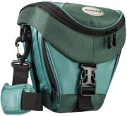 mantona 19748 premium holster bag dark green photo