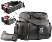 mantona 19735 set premium biker photo bag incl 2 adapter photo