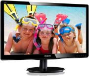 othoni philips 200v4qsbr 00 195 led full hd black photo