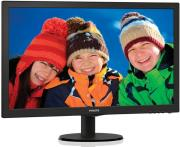 othoni philips 273v5lhab 27 led full hd with built in speakers black photo
