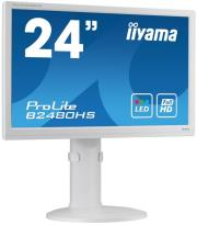 othoni iiyama prolite b2480hs w1 236 led full hd with speakers white photo
