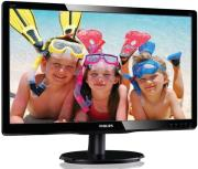 othoni philips 220v4lsb 22 led monitor black photo