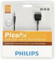 philips picopix ppa1160 audio video cable for iphone ipod ipad photo