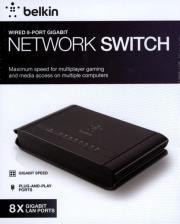 belkin f5d5141az8 8 port gigabit switch photo