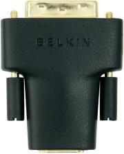 belkin f3y038bf adapter hdmi dvi d f m black gold photo