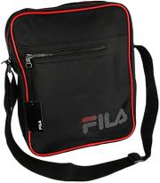 fila shoulder bag black red photo
