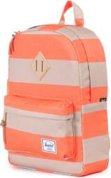 sakidio herschel heritage kids 85l neon orange stripe khaki photo