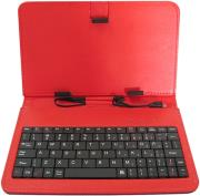 rebeltec cs97 tablet case with keyboard 97 red photo