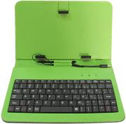 rebeltec cs97 tablet case with keyboard 97 green photo