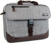 BAGGIE MESSENGER BAG GREY 15.6-17