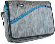 BAGGIE MESSENGER BAG GREY 15.6